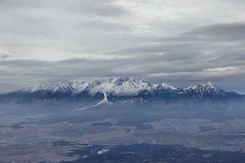 Free stock photo of blue mountains