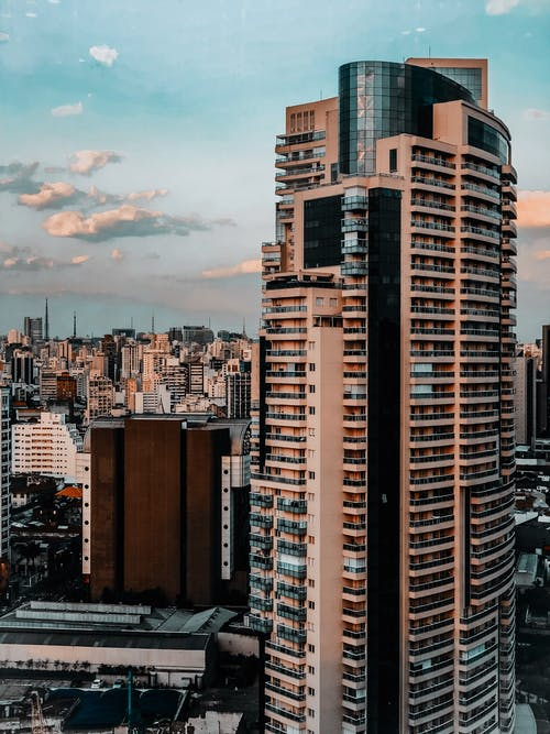 High Rise Building in Downtown Sao Paolo