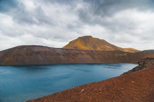 Foto stok gratis berawan, danau, Islandia, nord