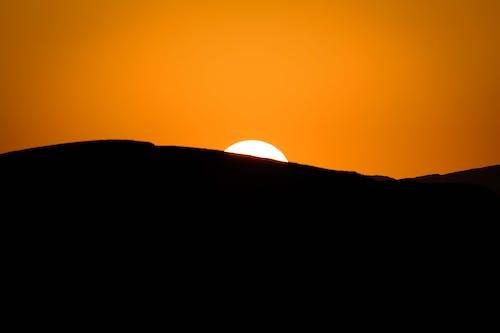 Gratis arkivbilde med bakbelysning, daggry, fjell, natur