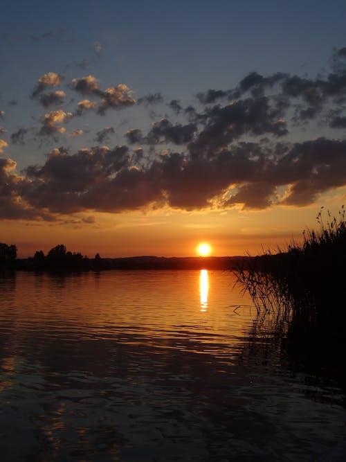 คลังภาพถ่ายฟรี ของ พระอาทิตย์ตกที่สวยงาม, ภูมิทัศน์