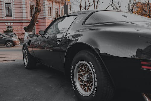 Free stock photo of black car, canon, old car, pontiac