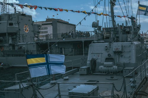 Free stock photo of flag, ukraine, warship