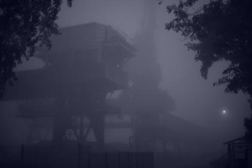 Free stock photo of crane, dark, elevator, lift
