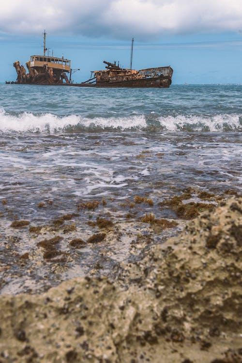 Ảnh lưu trữ miễn phí về biển, bờ biển, đại dương, đống đổ nát