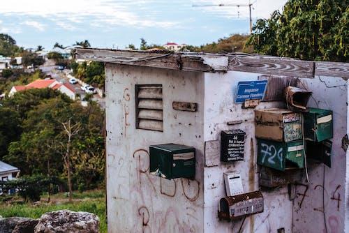 Photos gratuites de abandonné, architecture, bâtiment, bois