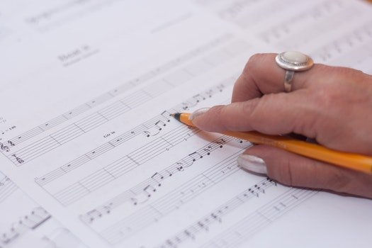 Free stock photo of hand, music, musician, compose