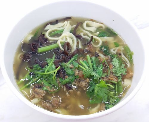 Foto d'estoc gratuïta de sopa de pasta de fideus