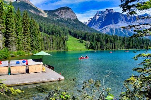 Foto profissional grátis de água, alpino, alvorecer, ao ar livre