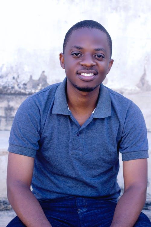 Free stock photo of male model, smiling, sweatshirt