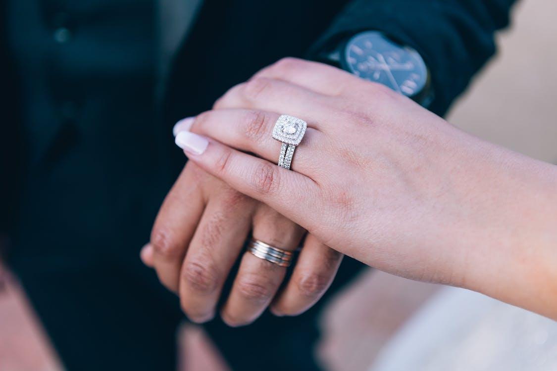 People Wearing Wedding Rings