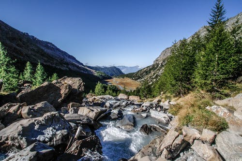 River on Rocky Mountain