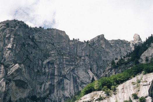 Kostenloses Stock Foto zu landschaft, berge, natur, blau