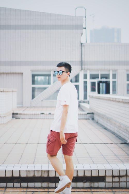 Photo Of Man Wearing White Shirt