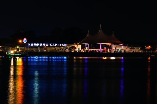 kampung kapitan'a gece içeren Ücretsiz stok fotoğraf