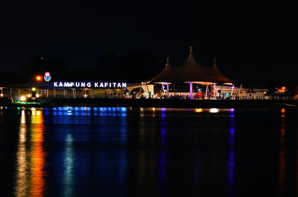 Foto d'estoc gratuïta de nit a kampung kapitan