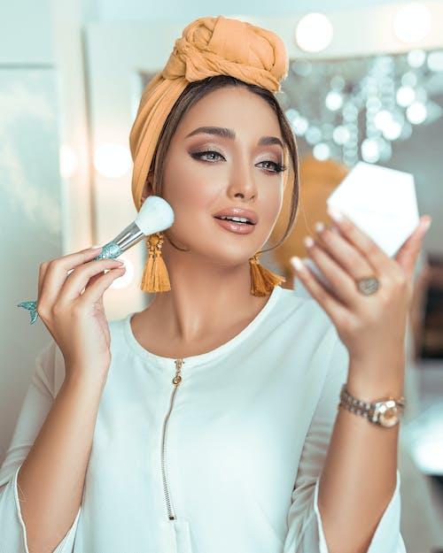 Woman Putting Make-up