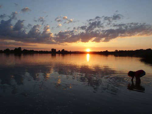 Základová fotografie zdarma na téma krajina, nádherný západ slunce
