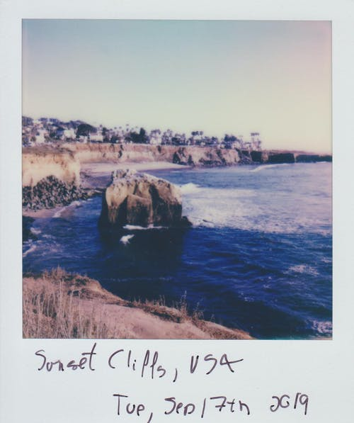 Безкоштовне стокове фото на тему «Polaroid, берег, берег моря, берег океану»