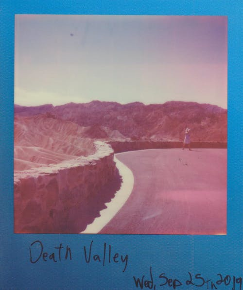 Photo of death valley