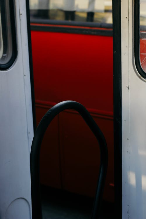 Foto stok gratis bis, matahari, merah, musim gugur