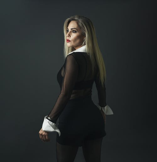 Woman Wearing See Through Clothes