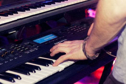 Free stock photo of music, musician, piano player, audio