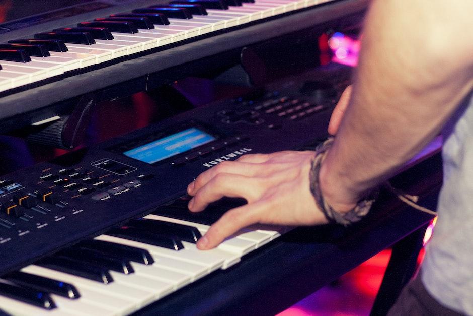 audio, band, mixing panel