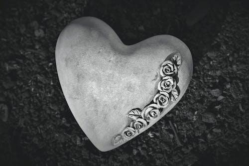 คลังภาพถ่ายฟรี ของ ความตาย, ความเศร้าโศก, หัวใจ