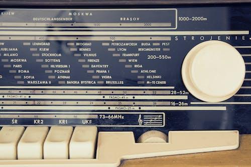 广播电台, 控制, 無線電, 聲音 的 免费素材照片