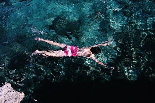 Gratis lagerfoto af dykning, ferie, fritid, fugleperspektiv