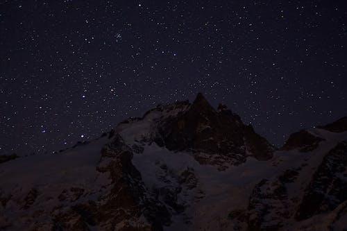 Δωρεάν στοκ φωτογραφιών με απόγευμα, αστέρια, αστρικός, βουνό