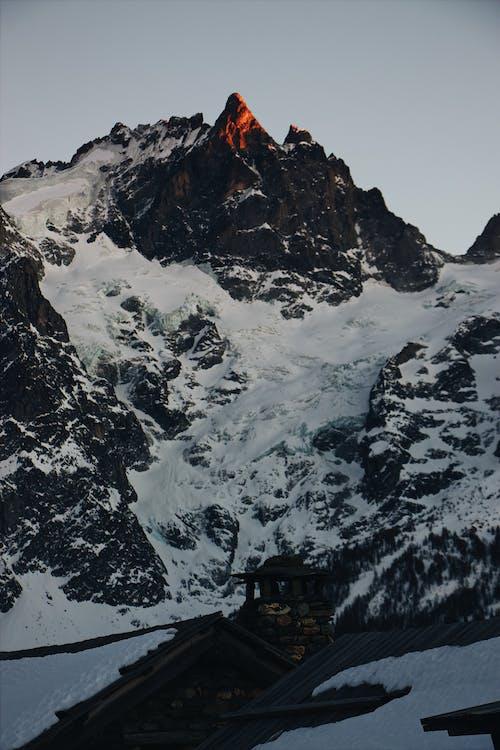 Základová fotografie zdarma na téma hora, ledový, mrazivo, příroda