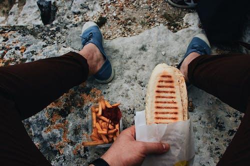 Бесплатное стоковое фото с еда, жарить, закуски, хлеб