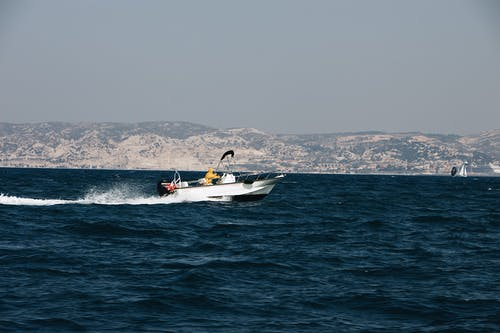モーターボート, 交通機関, 海, 海洋の無料の写真素材