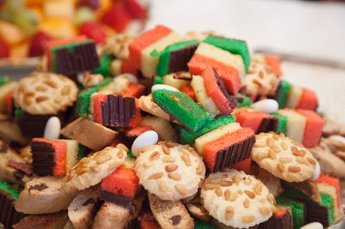 Free stock photo of assorted cookies, Italian cookies