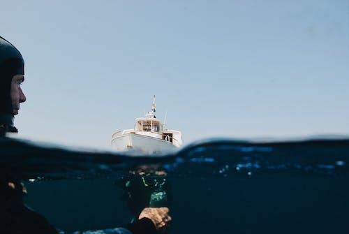 คลังภาพถ่ายฟรี ของ กลางวัน, กลางแจ้ง, การกระทำ, การดำน้ำลึก