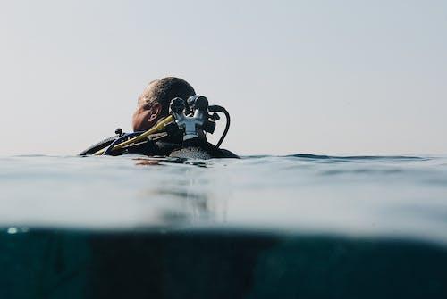 คลังภาพถ่ายฟรี ของ กลางแจ้ง, การกระทำ, การดำน้ำลึก, การถ่ายภาพระดับแยก