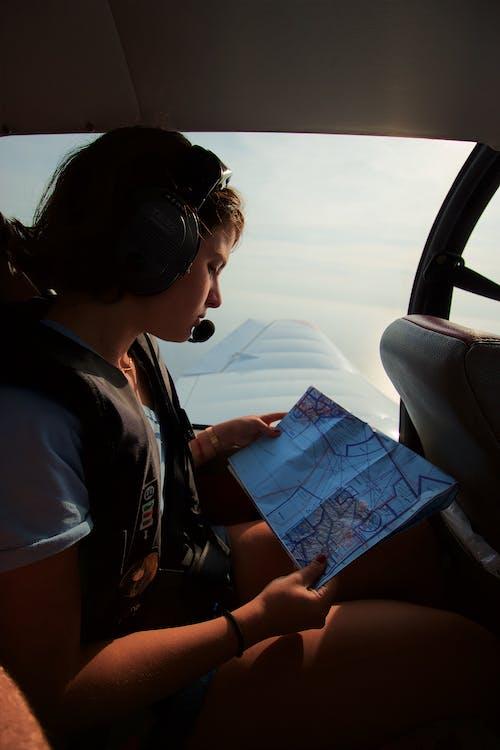 flyg, Karta, kvinna