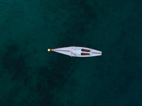 High Angle Photo Sailboat