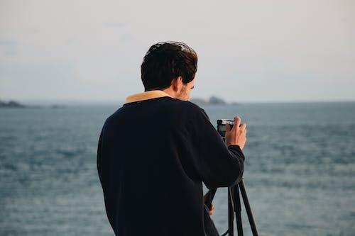 Foto profissional grátis de ao ar livre, câmera, diversão, estalar