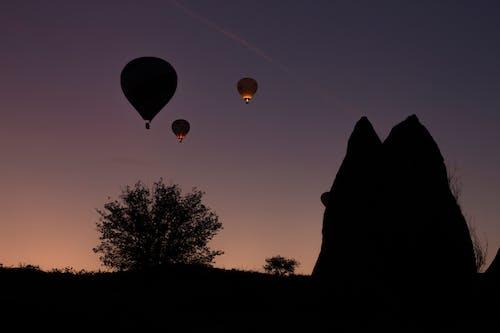 Free stock photo of cappadocia, Fairy Chimneys, hot ait balloons