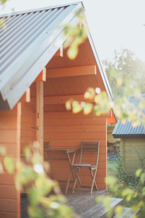 Foto d'estoc gratuïta de a l'aire lliure, arquitectura, buit, bungalou