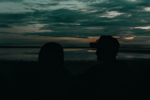 Fotobanka sbezplatnými fotkami na tému dvojica, mať schôdzku, milujem ťa, oceán