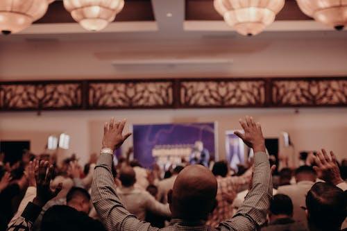 คลังภาพถ่ายฟรี ของ กลุ่ม, คน, นมัสการ, ในร่ม
