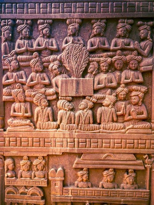 Fotobanka sbezplatnými fotkami na tému archeológia, architektúra, Ázia, Buddha