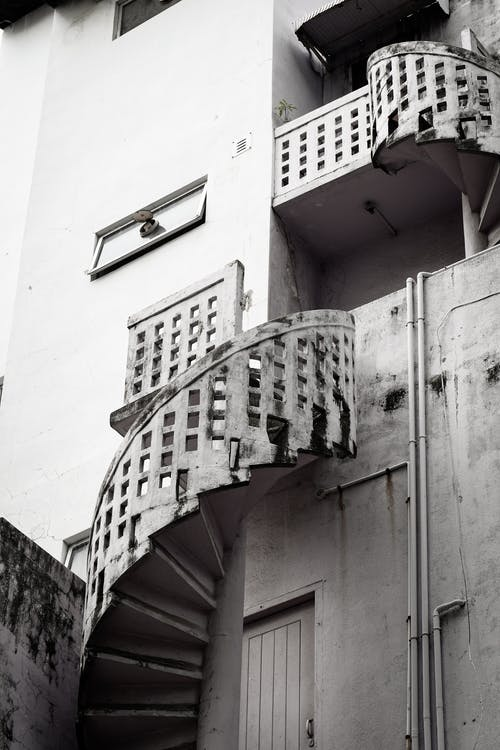 архитектура, Архитектурное проектирование, винтовая лестница