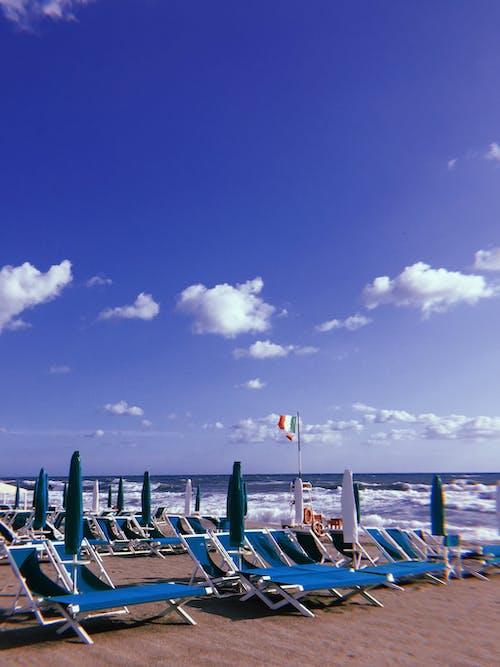 Základová fotografie zdarma na téma křesílka, křesla, moře, oceán