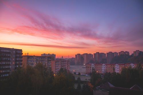 Photos gratuites de automne, beau ciel, ciel de la ville, ciel nuageux