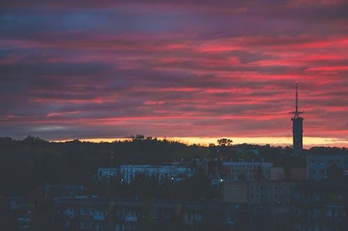 Photos gratuites de beau ciel, ciel, ciel de la ville, ciel nuageux